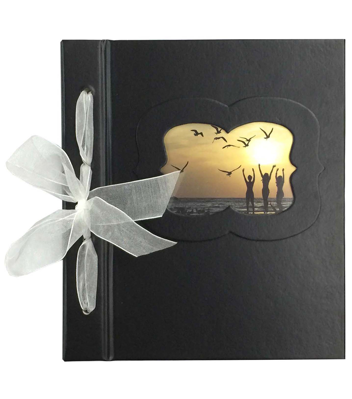 Park Lane 6\u0022x8\u0022 Guest Book-Black