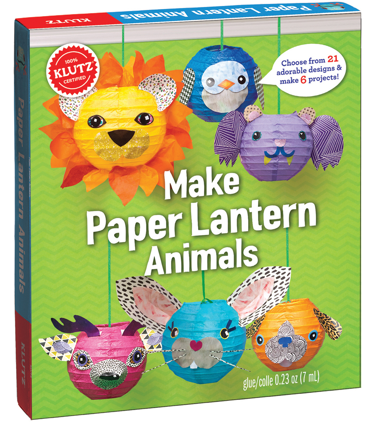 Make Paper Lantern Animals Kit