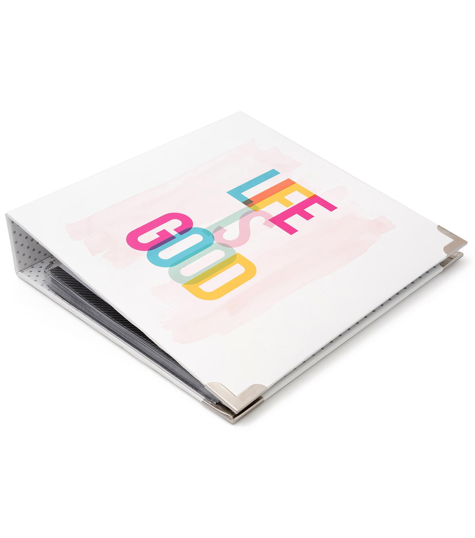 Heidi Swapp Storyline Album Kit-Life is Good