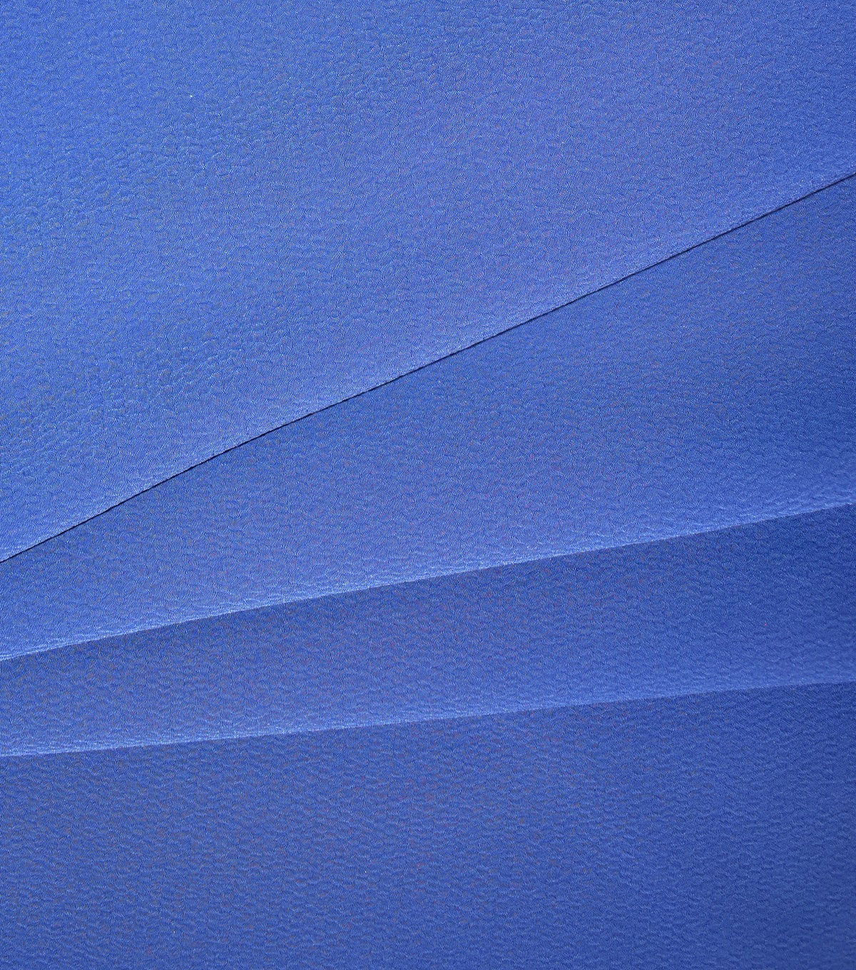 Silky Solids Textured Polyester Crepe Fabric-Solids