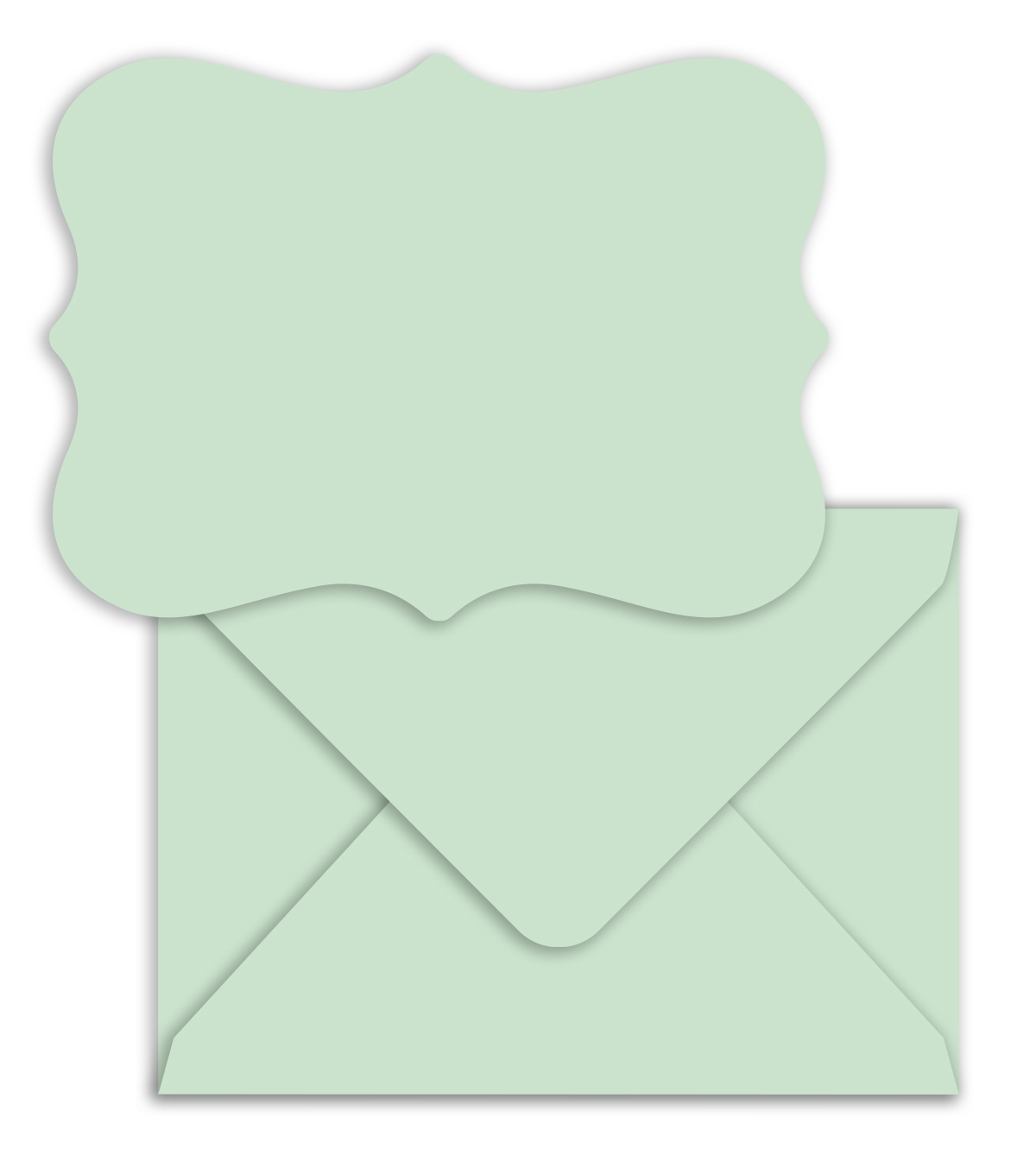 Park Lane A2 Cards & Envelopes-Light Turquoise