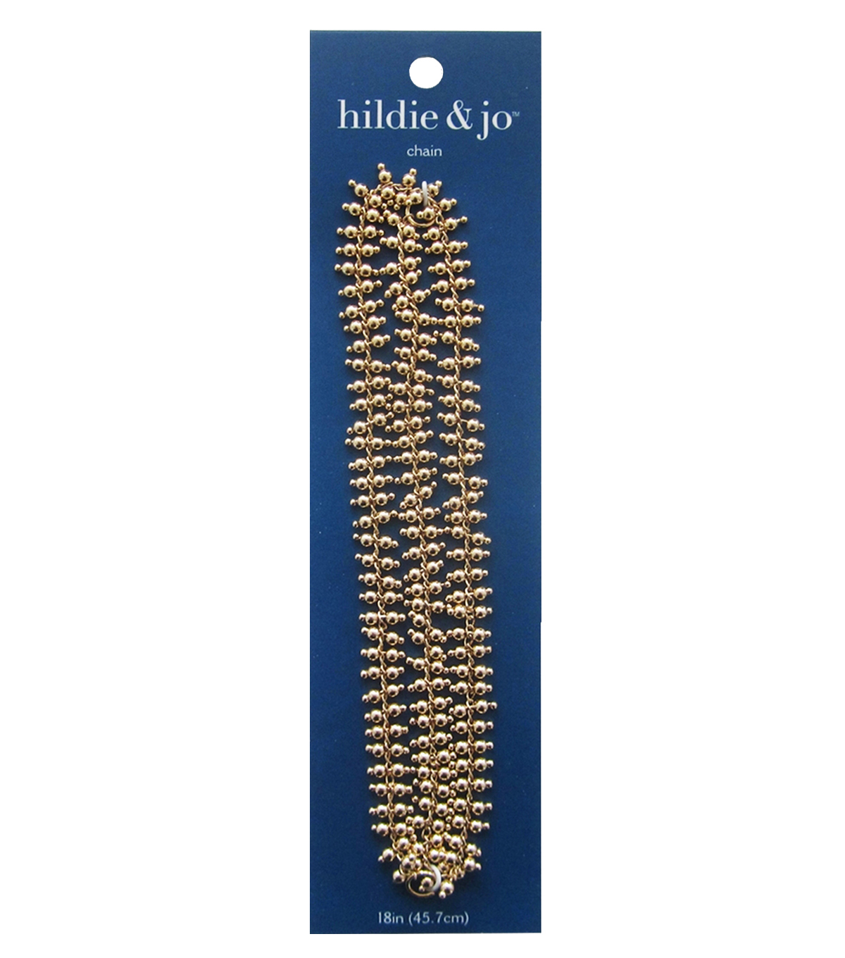 hildie & jo 18\u0027\u0027 Metal Ball Chain-Gold