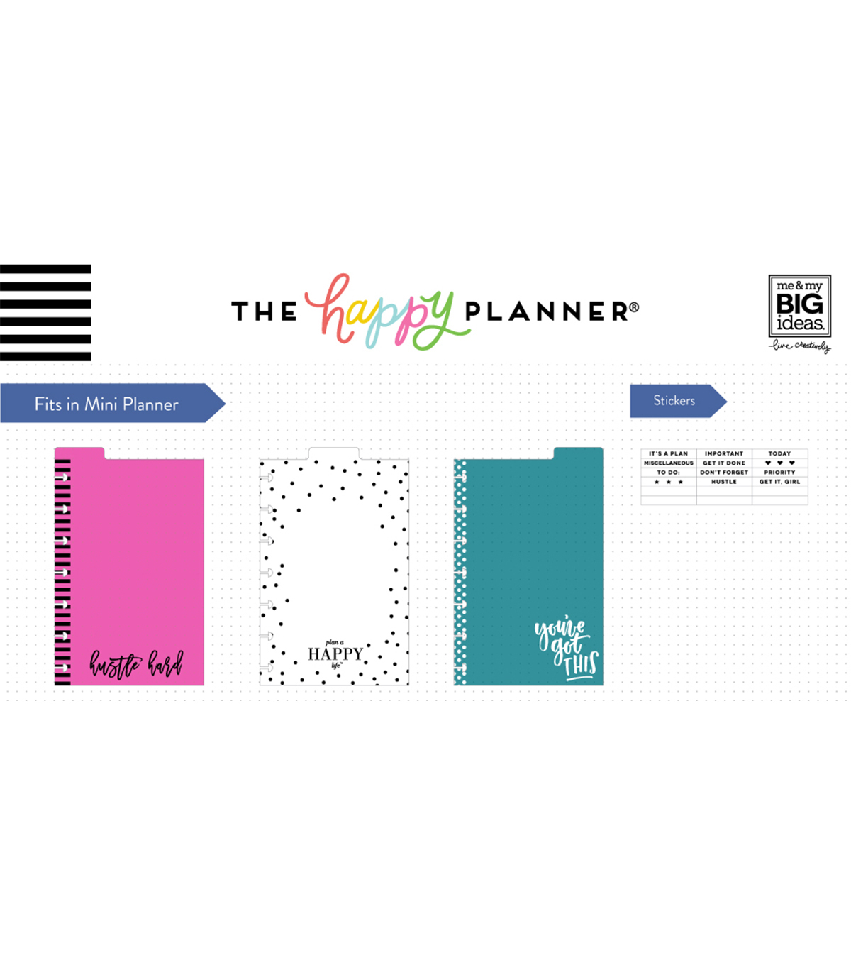 The Happy Planner Mini Dashboards