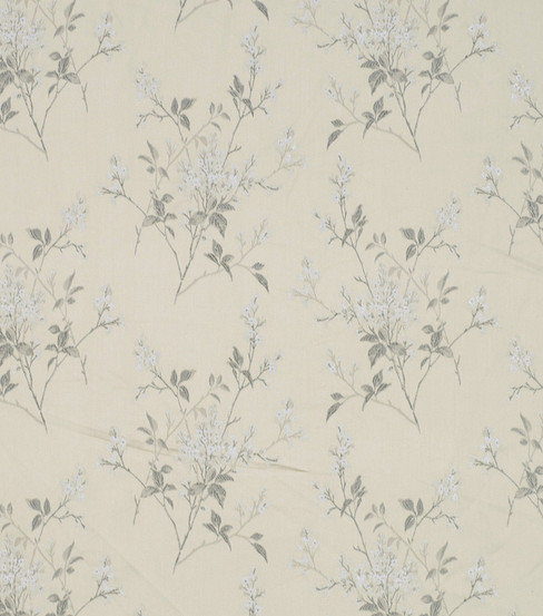 Home Decor 8\u0022x8\u0022 Fabric Swatch-Robert Allen Floral Field Frost Fabric