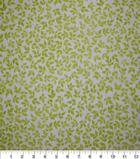 Premium Quilt Cotton Fabric-Remi Tonal Leaves
