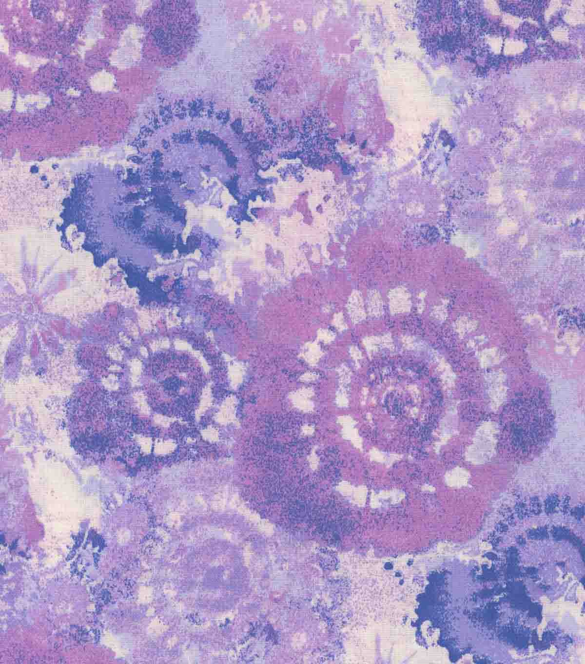 Keepsake Calico Cotton Fabric 44\u0027\u0027-Periwinkle Tie Dye