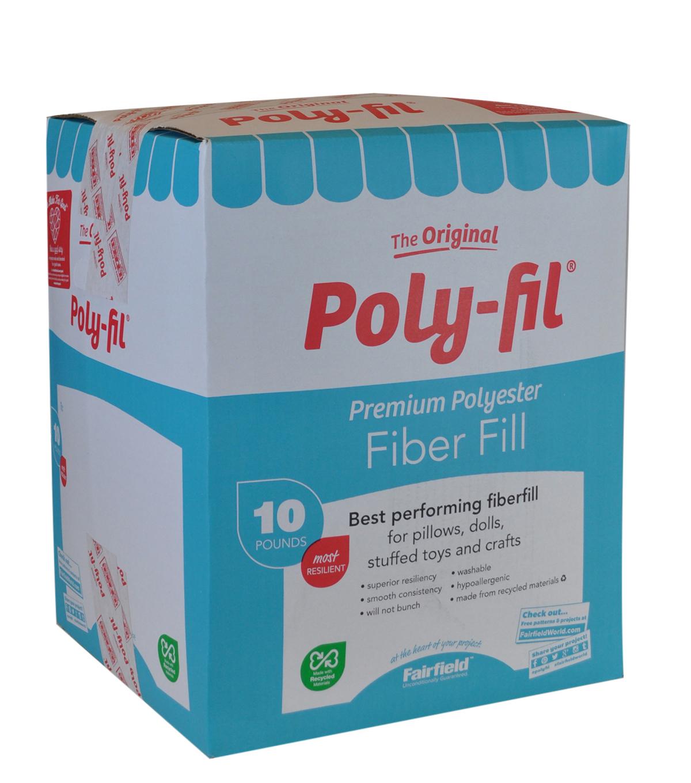 Poly Fil Fiber Fill 10 Lb Box Joann
