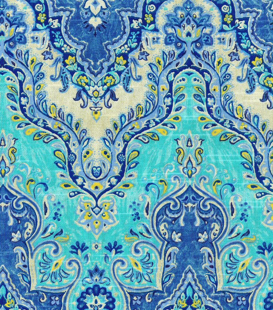 Waverly Multi-Purpose Decor Fabric 54\u0022-Seblist Prussian