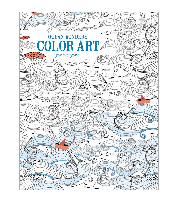 Leisure Arts Ocean Wonders Coloring Book Joann