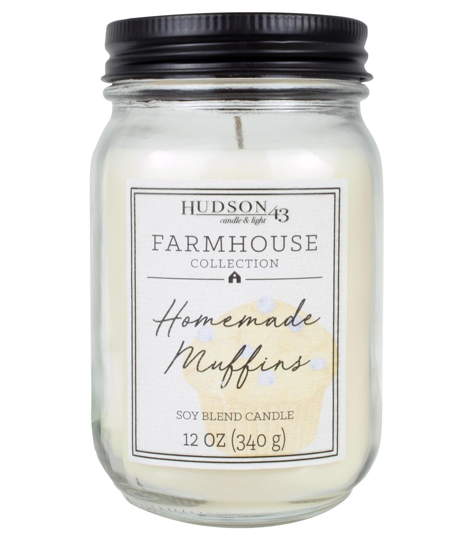 Hudson 43 Farmhouse Collection 12 oz Homemade Muffins ...