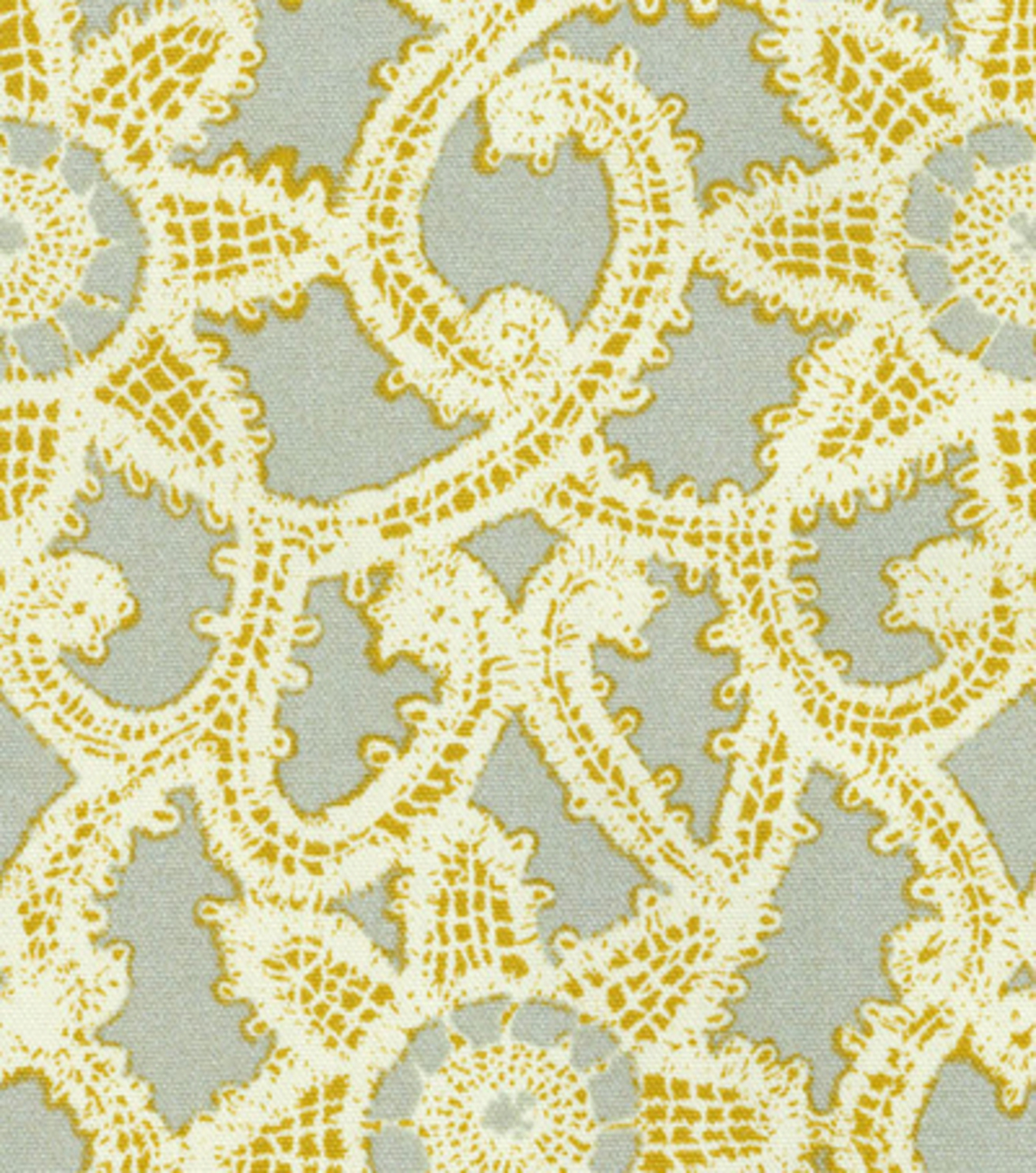 Home Decor 8''x 8'' Swatch- HGTV HOME Like Lace Platinum