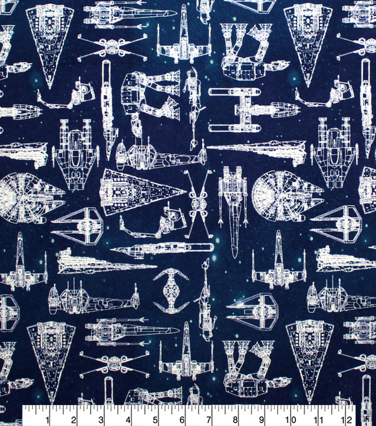 Disney Star Wars Cotton Fabric-Galaxy