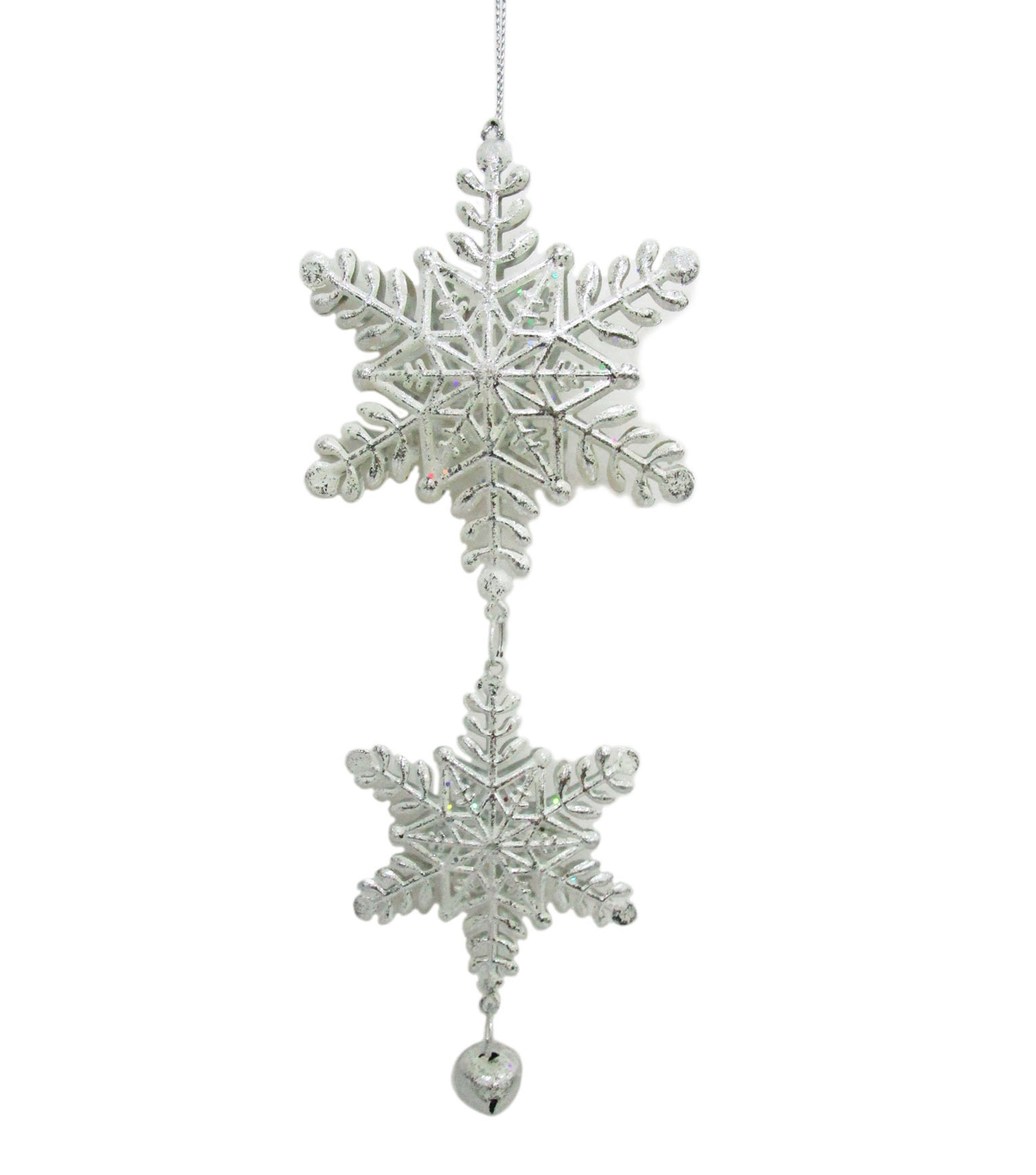 Maker\'s Holiday Christmas Arctic Frost Snowflake Ornament | JOANN