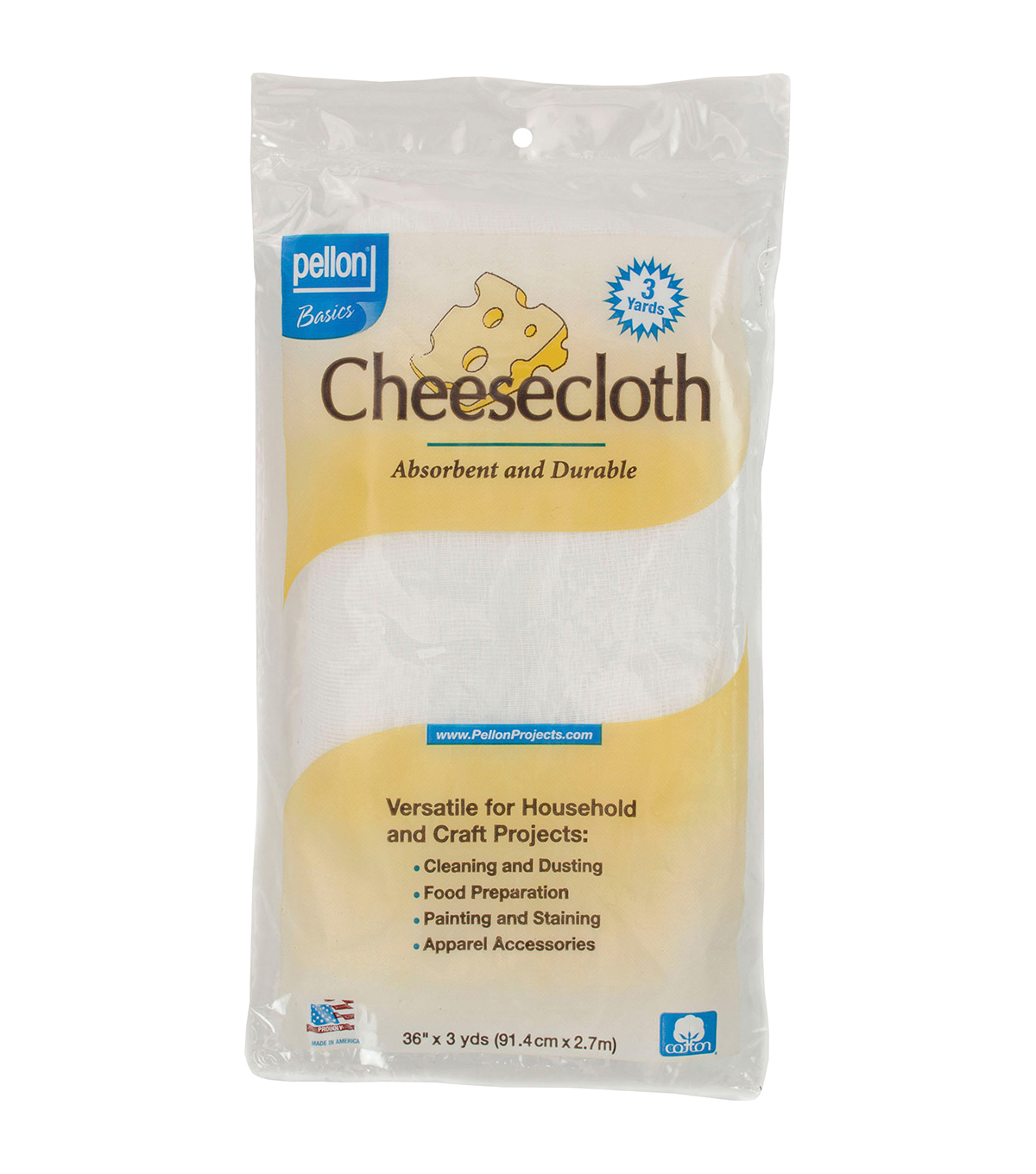 Pellon White Cheesecloth 36\u0027\u0027x3yds