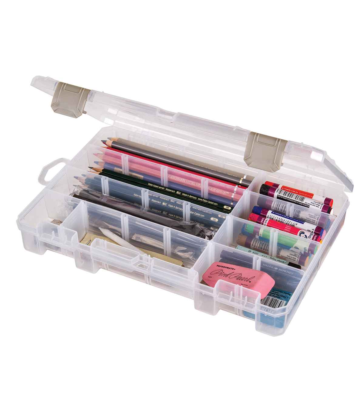 ArtBin Solutions Box 6-12 Compartments-Translucent