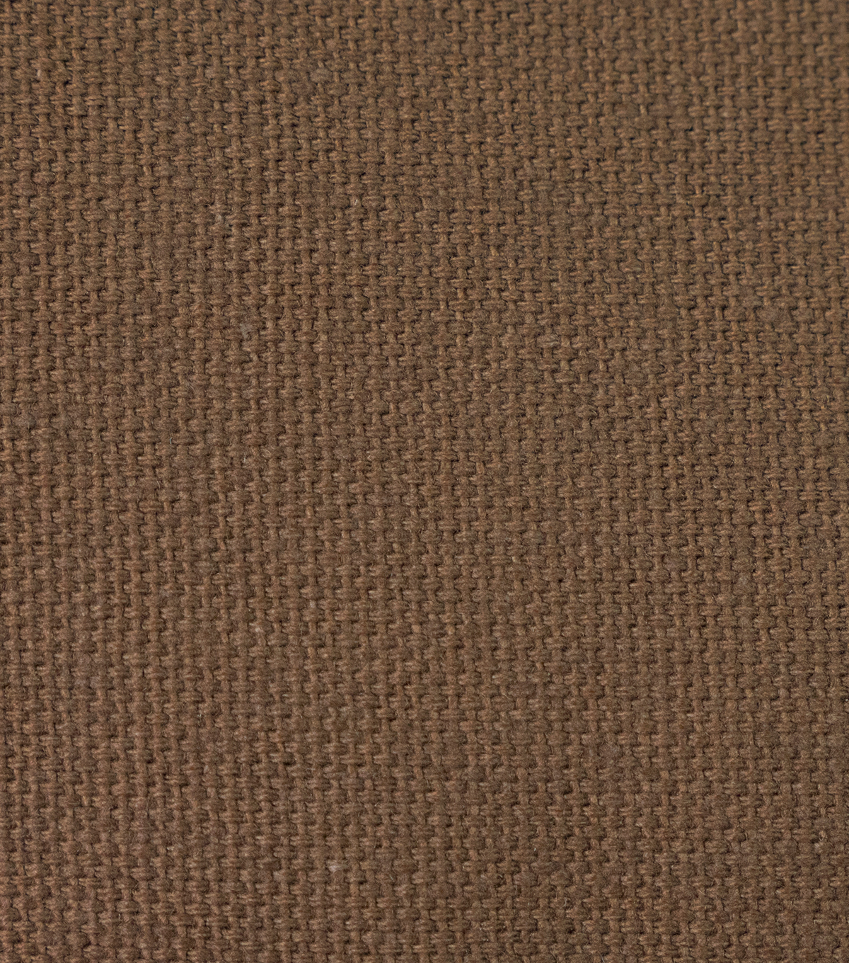 Duck Canvas Fabric, Classic Brown