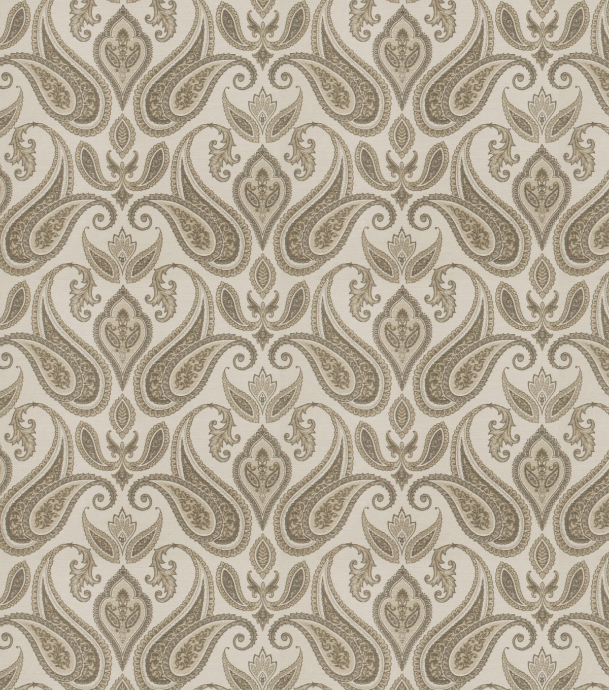 Eaton Square Lightweight Decor Fabric 54\u0022-Mango/Charcoal