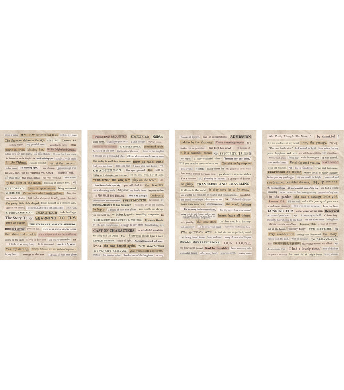 Tim Holtz idea-ology 295 pk Clipping Stickers