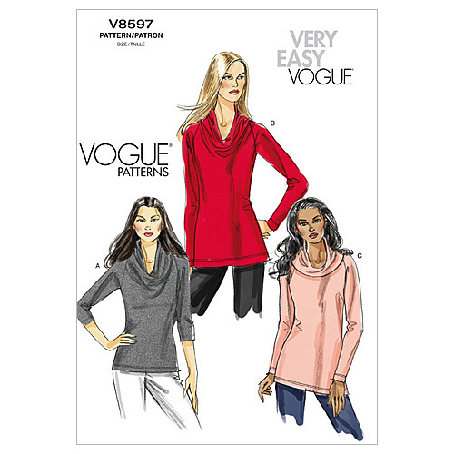 Mccall Pattern V8597 Aa (6-8-10-Vogue Pattern
