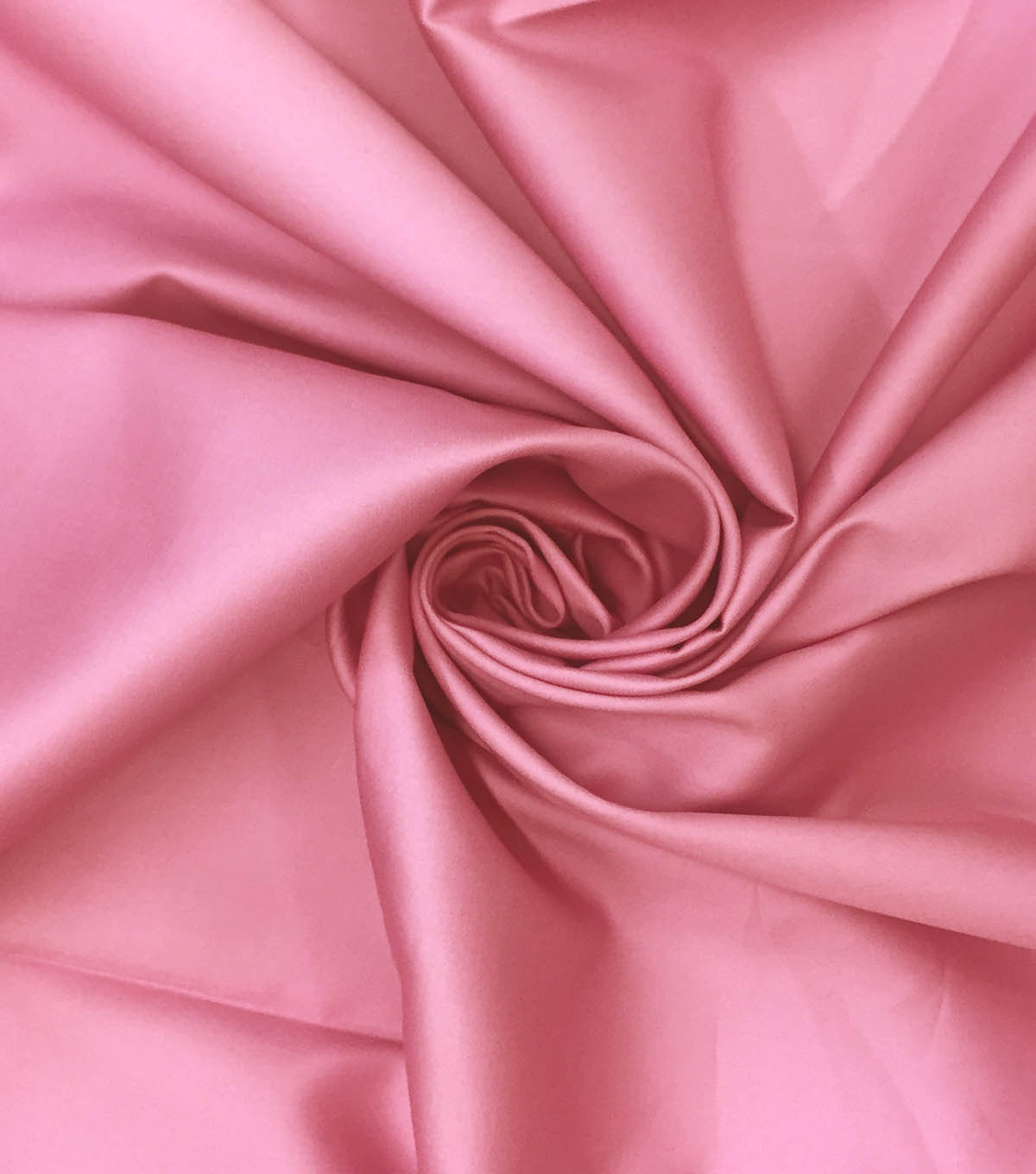 Supima Sateen Cotton Fabric-Solids, Ballet Pink