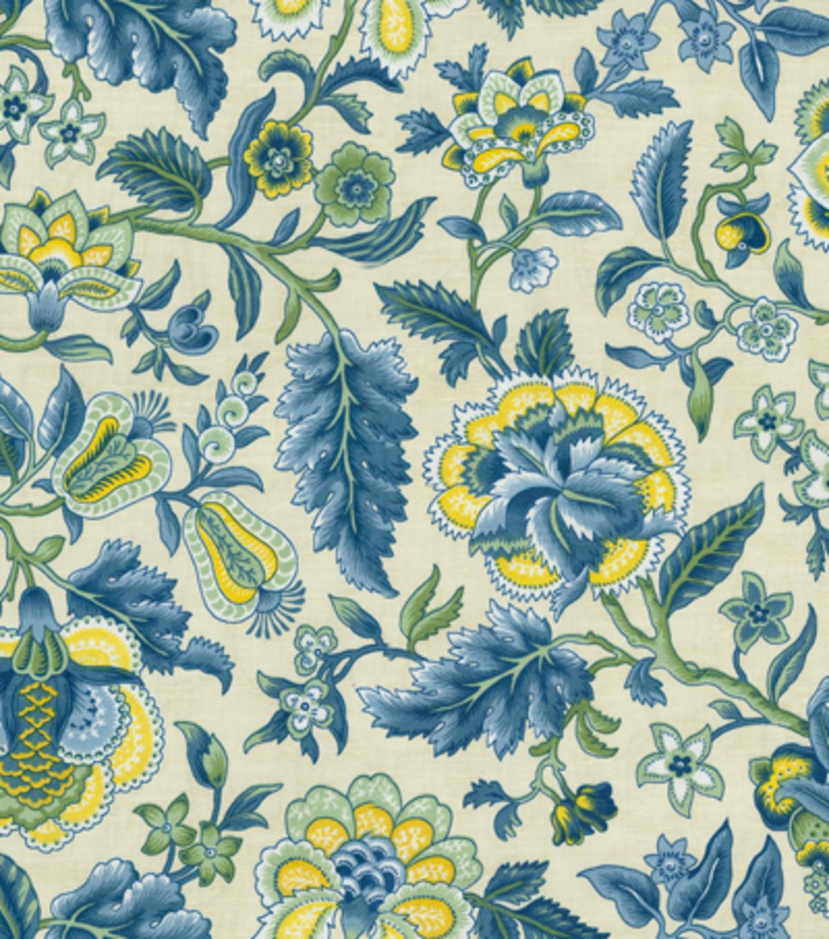 Home Decor Print Fabric Waverly Imperial Dress Porcelain Joann