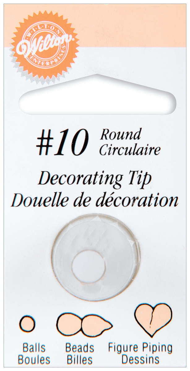 Wilton Decorating Tips Round, #10