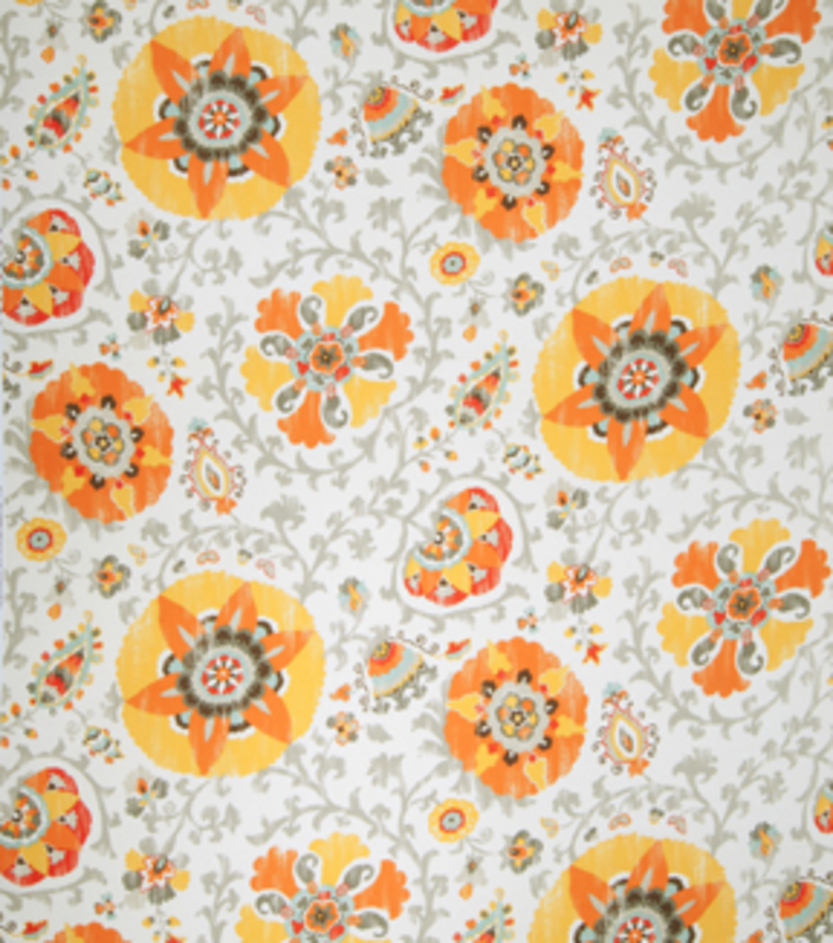 Home Decor 8\u0022x8\u0022 Fabric Swatch-Eaton Square Flowerama Gold Floral
