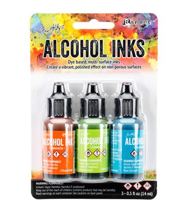 Tim Holtz 3 Pack 0.5fl.oz. Alcohol Ink-Spring Break