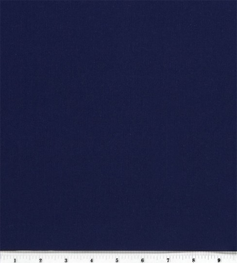 Sew Classic Bottomweight Classic Twill Solid Fabric, Navy
