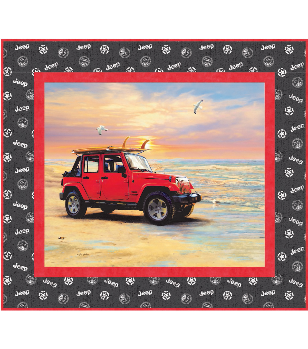 Quilt Kit-Jeep Beach Bum  by Riley Blake