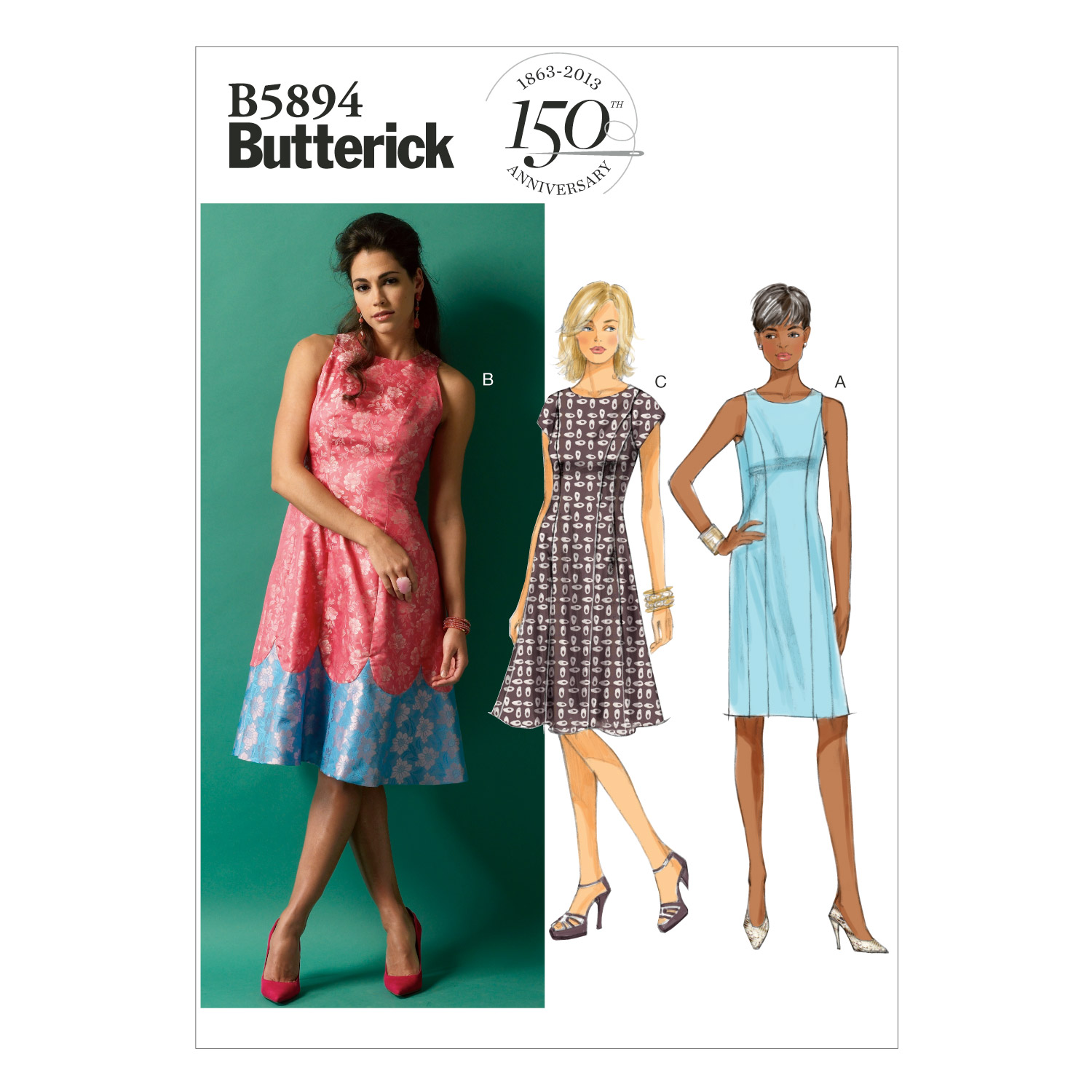 Butterick Misses Dress-B5894
