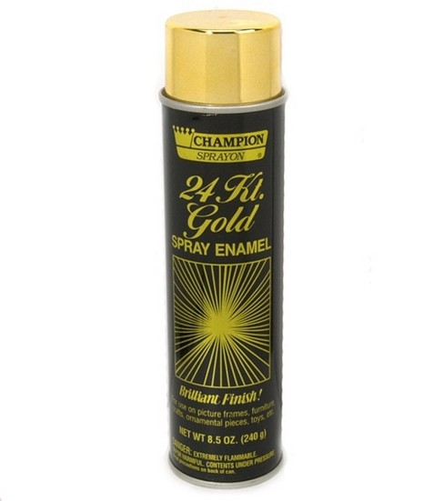Chase Spray Enamel 24k Gold 85 oz JOANN