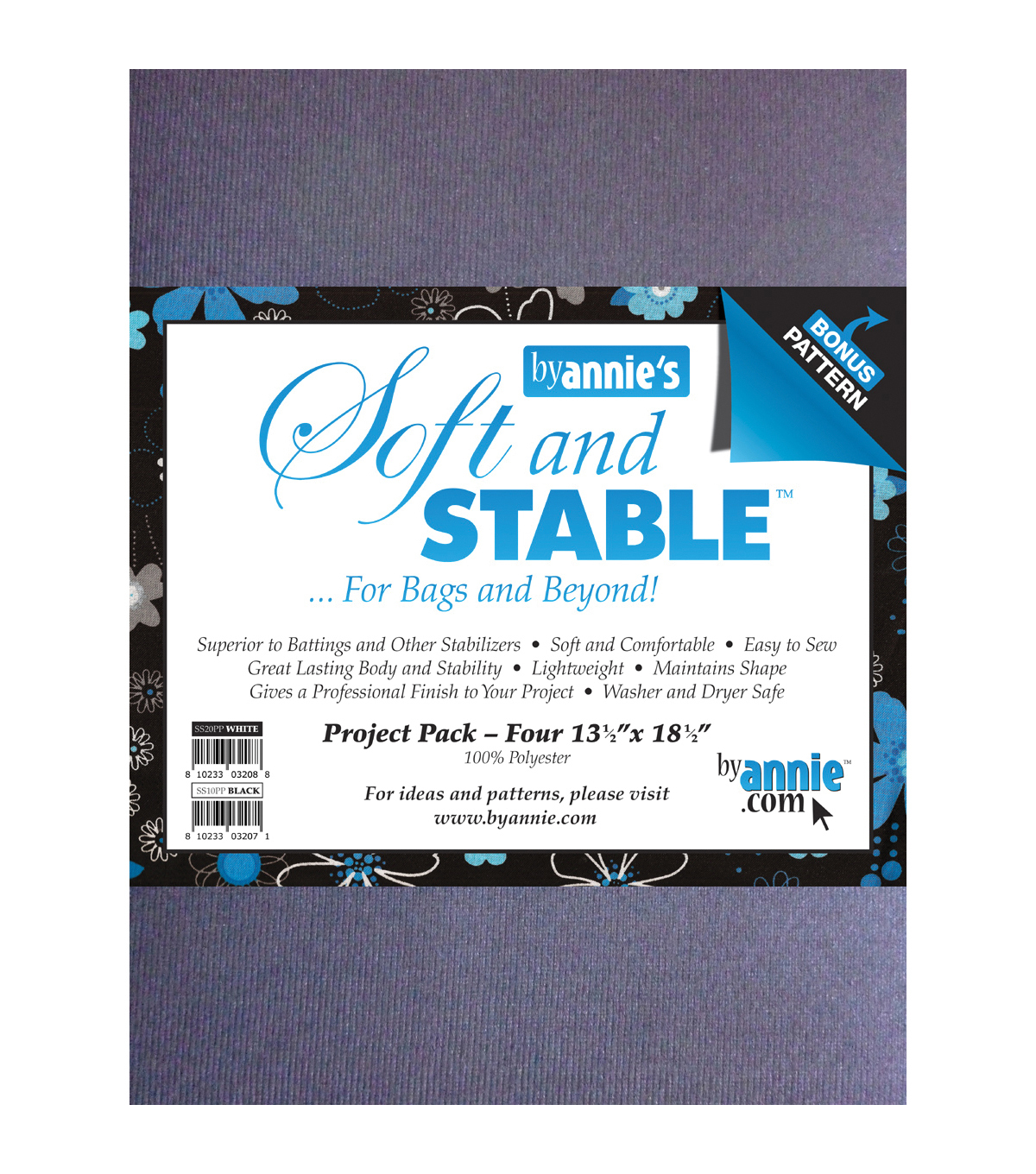 Soft And Stable Project Pack 13 12x18 12 White Joann