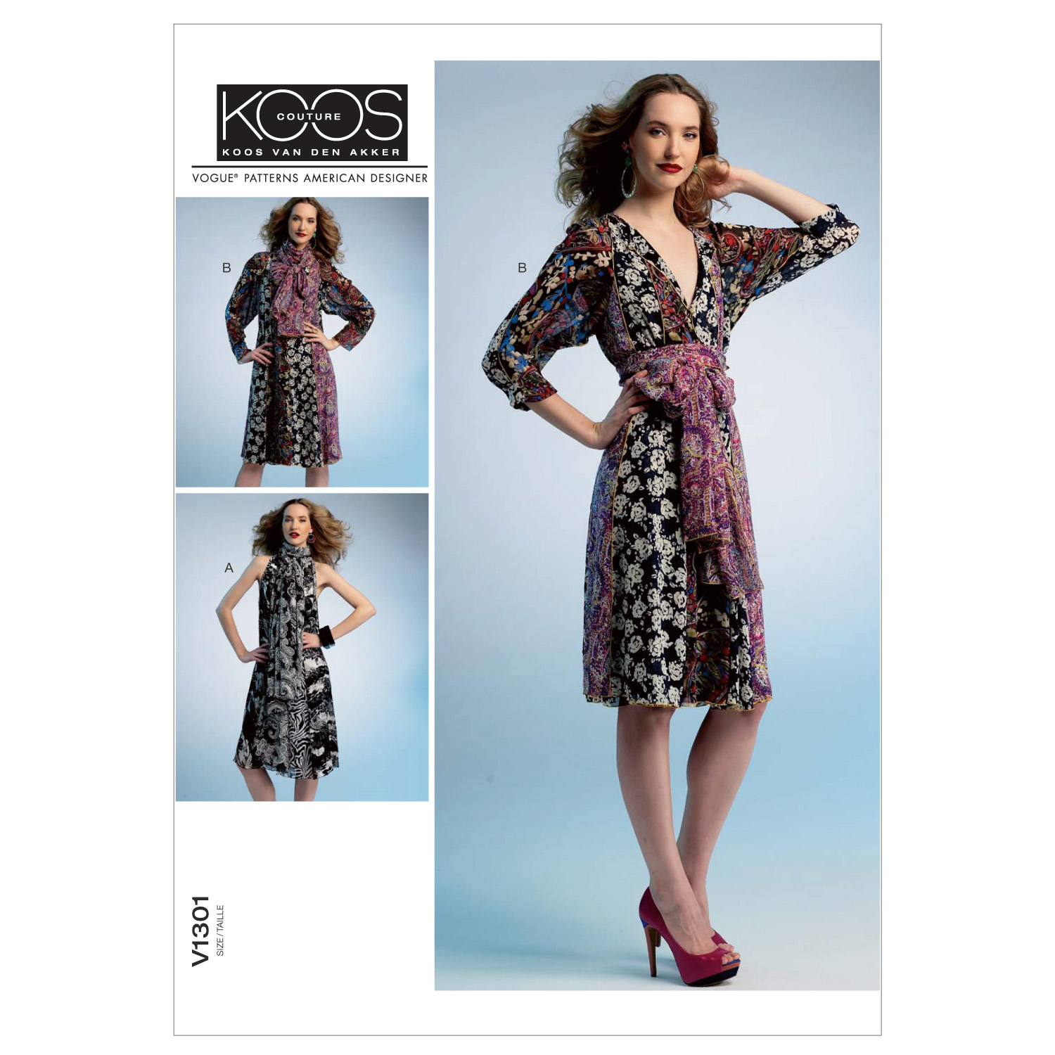 Mccall Pattern V1301 Zz (Lrg-Xl-Vogue Pattern