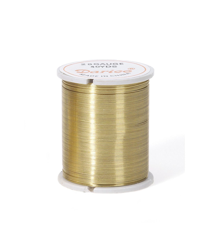 Bead Wire Gold 28g/40 Yds | JOANN
