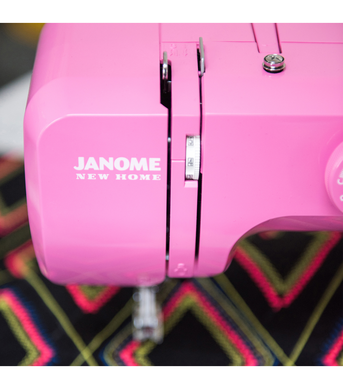 Janome Easy Sewing Machine with Bonus Accessory Bundle-Sorbet