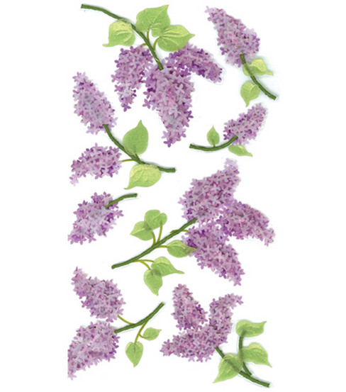 Jolee\u0027s Boutique Le Grande Dimensional Sticker-Lovely Lilacs
