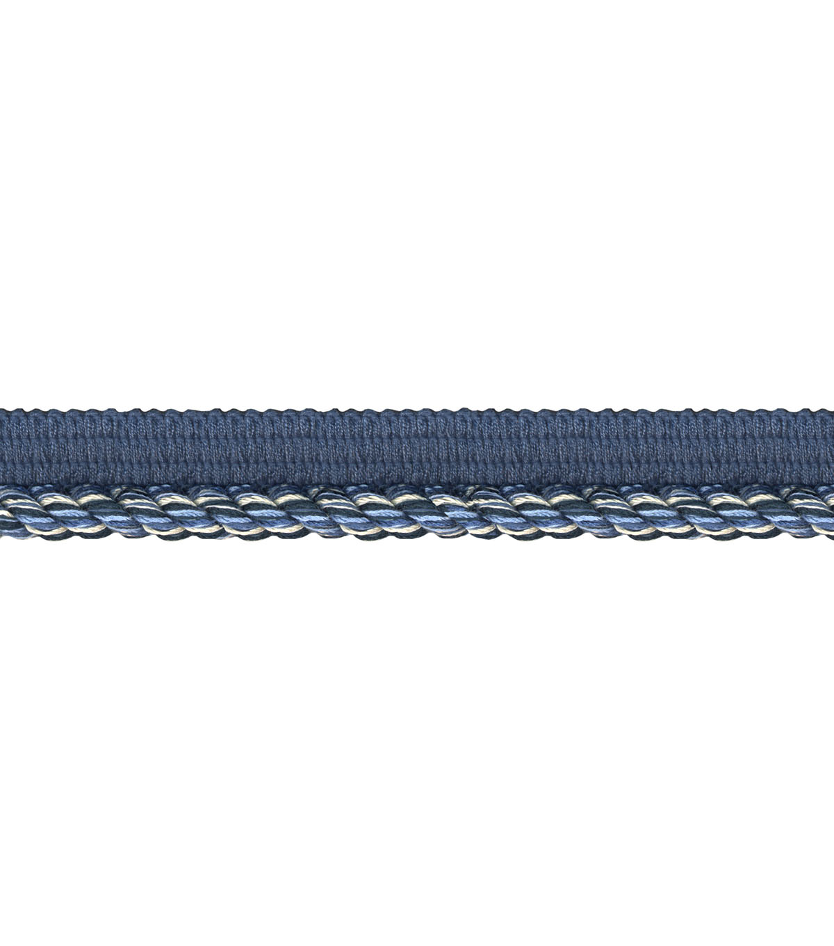 Wav 3/8 3-ply Lip Cord 12yd Nautical