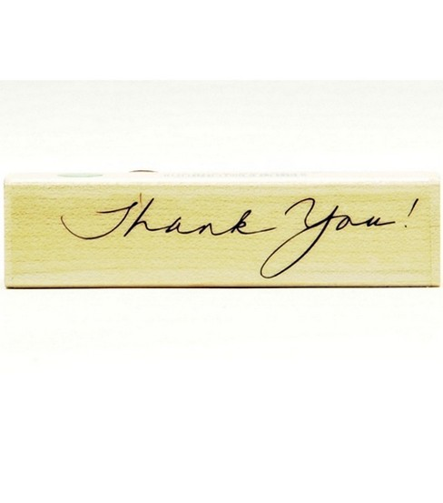 Hero Arts Rubber Stamp-Written Thank You