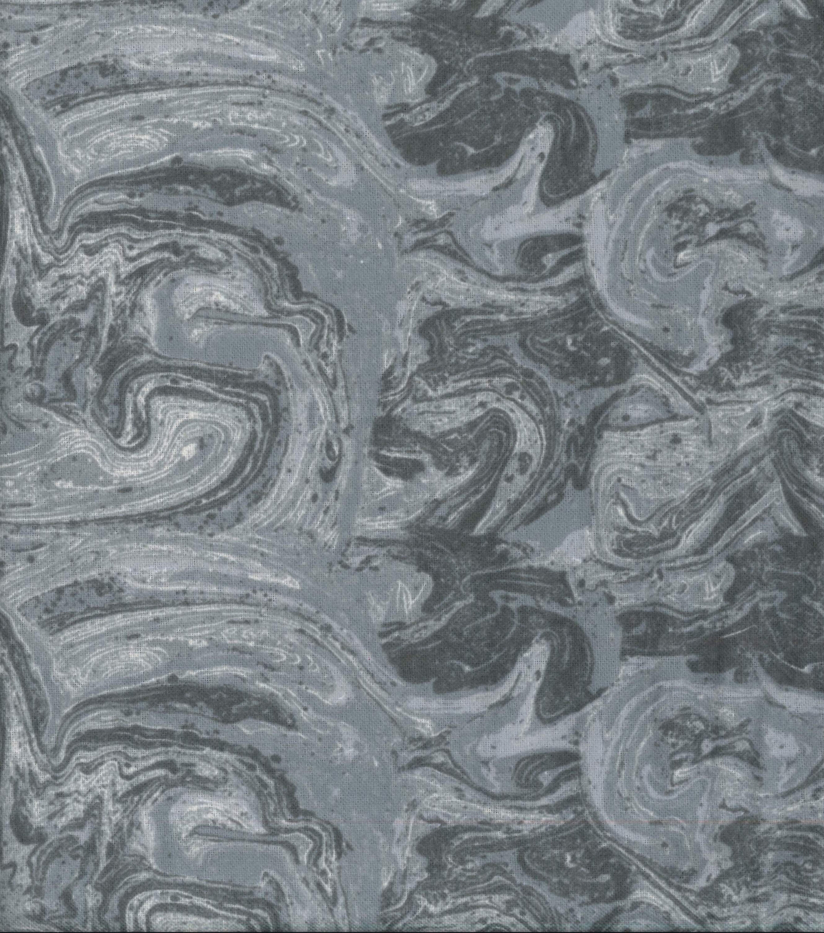 Wide Flannel Fabric -Gray Marble