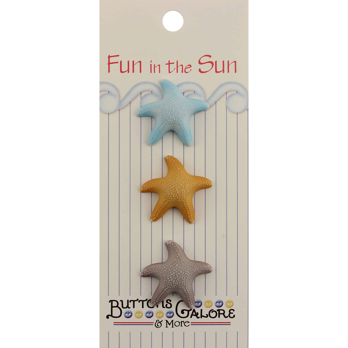 Fun In The Sun Buttons-Starfish