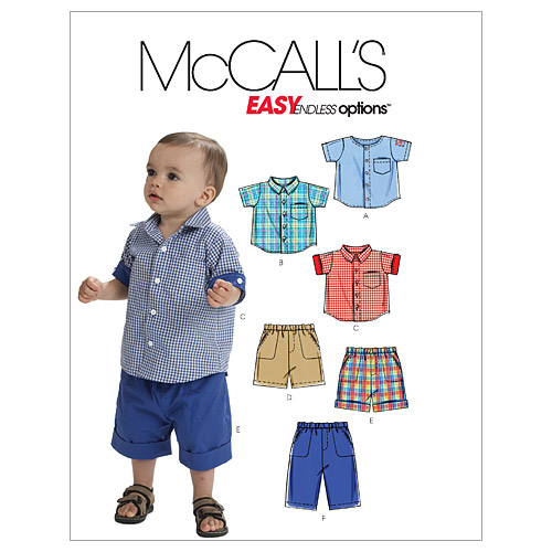 McCall\u0027s Infants Casual-M6016