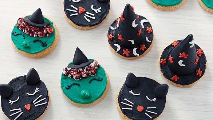 Kids Halloween Cookies