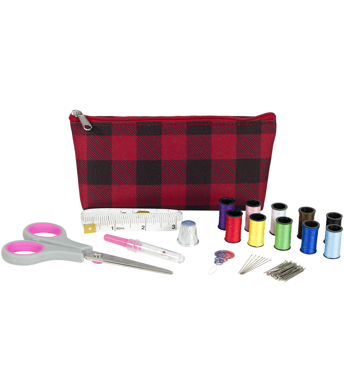 Everything Mary Sewing Travel Kit-Red Black