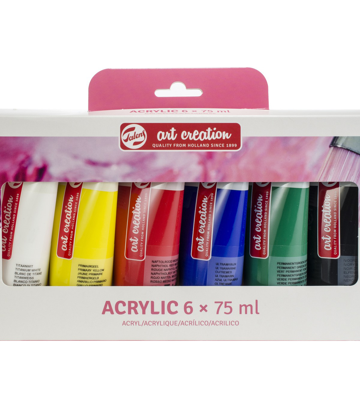 Talens Art Creation 6 pk 2.5 fl. oz. Acrylic Paint