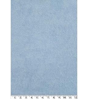 Cotton Terry Cloth Fabric-Solids, Light Blue