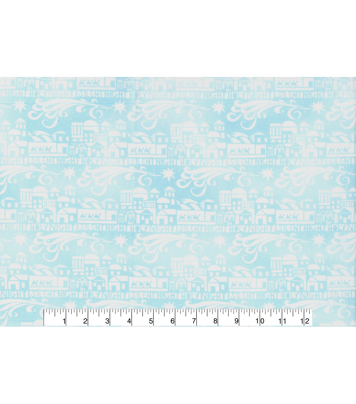 Christmas Cotton Fabric-Silent Night
