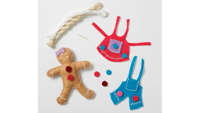 Kids' Hand Sew With Felt