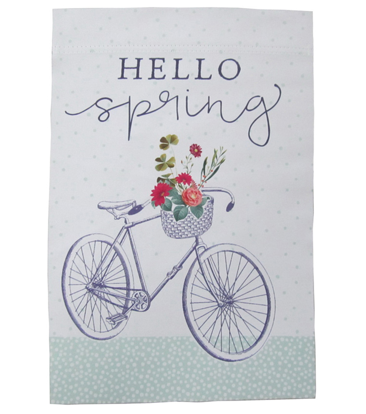 In the Garden 12\u0027\u0027x18\u0027\u0027 Flag-Hello Spring