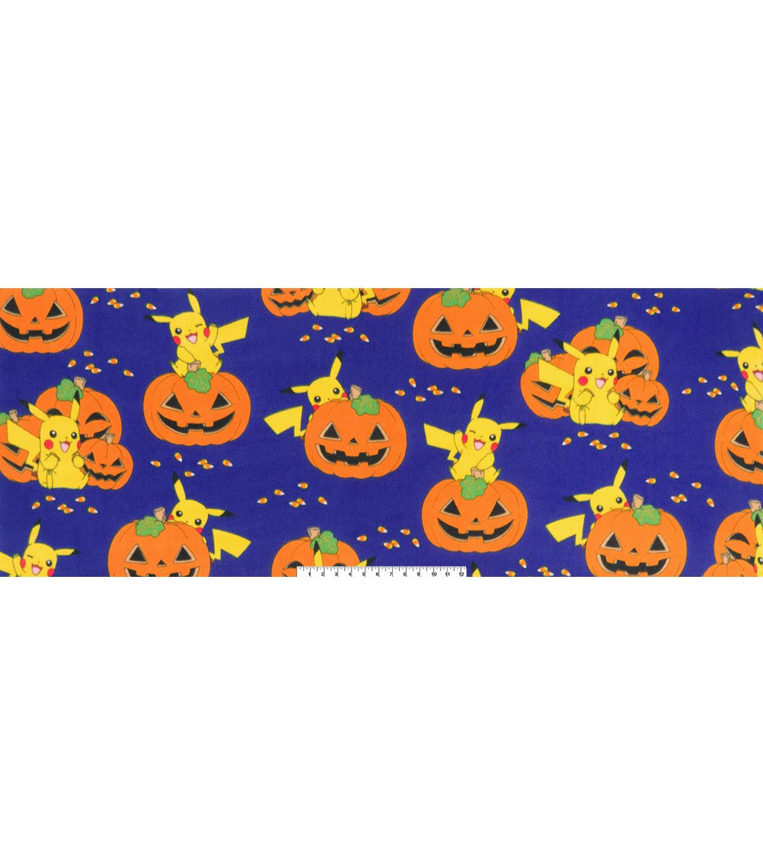 pokemon halloween fleece fabric 60 pikachu pumpkin joann